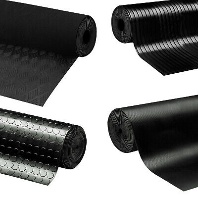 Solid Rubber Sheeting Sheets Garage Flooring Matting Bench Top Work 3MM Thick