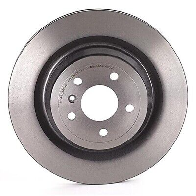 Brembo Pair Set of 2 Rear Brake Disc Rotors PVT High Carbon For MB W166 ML Class