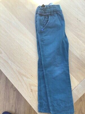 Ted Baker Boys Green Blue Cotton Jeans Trousers Age 4