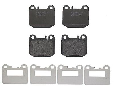 Front /& Rear Brembo Low Met Brake Pads Sets Kit for Mercedes W163 ML500 02-05