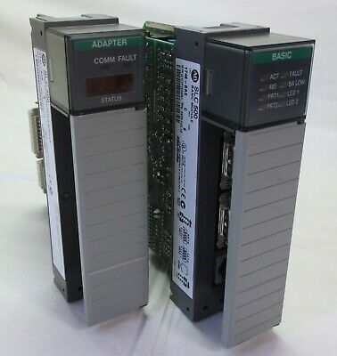 Lot Of 2 Allen Bradley 1746-Asb/1746-Bas Plc Modules See Details