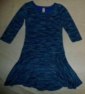 Girl's  Justice Blue Dress~Size  10