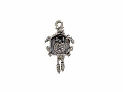 Cuckoo Clock Charm Moves for Home Decor & Antique Themed Jewelry