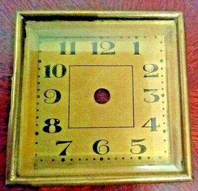 "2.5"" inch 65 mm Clock Sealed Dial & Bezel & Bevelled Glass"