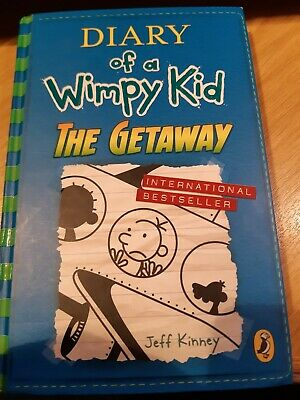 Diary of a Wimpy Kid The Getaway Book 12 Hardcover 7 Nov 2017 Jeff Kinney