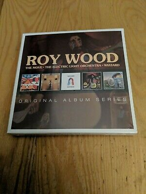Sealed CDs set ROY WOOD THE MOVE ELO ELECTRIC LIGHT ORCHESTRA WIZZARD