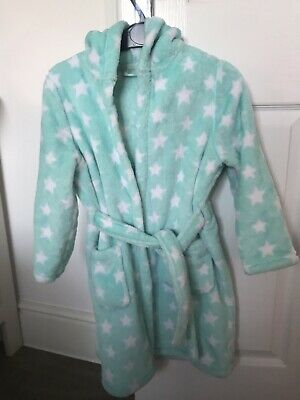 M&S Dressing Gown Girls Age 5-6