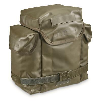 Gas Mask Bags 2 Pack French Military Surplus Issue Storage Transport Heavy Duty