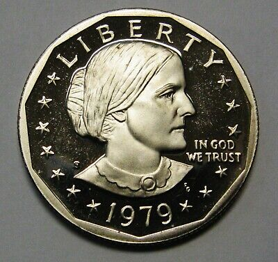 1979-S Type 1 Susan B Anthony Dollar Gem Proof Priced to Move and Shipped FREE