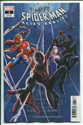 Symbiote Spider-Man Alien Reality #3 Jie Yuan Connect Variant Marvel 021220