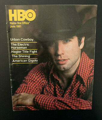1981 June *The Shining/The Jerk* Hbo Home Box Office Movie Guide Booklet (As)