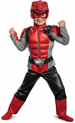 "Power Rangers Red Ranger 22/"" Spear Costume Disguise 18646 Operation Overdrive"