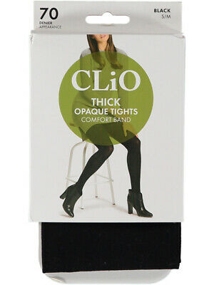 NEW CLIO 70 Denier Comfort Top Tights Womens by Best&Less