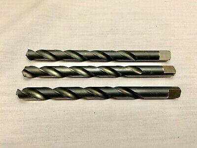 "6 NEW CHICAGO-LATHROBE JOBBER DRILLS LTR T .3580 X 5/"" X 3-1//2/"" FL HSS USA *291"