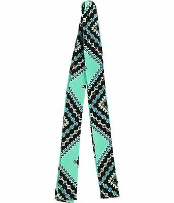 Tags Weekly Womens Printed Belt, Green, One Size