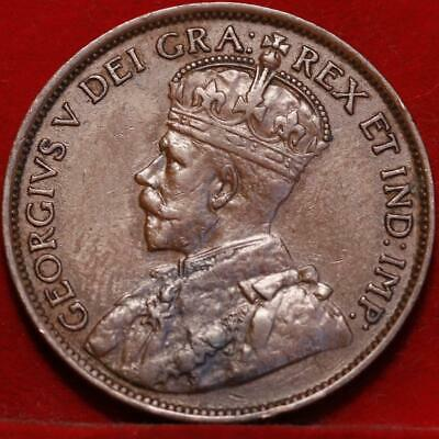 1920 Canada One Cent Foreign Coin