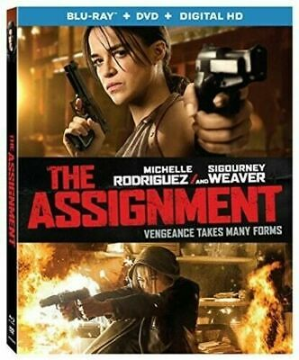 BLU-RAY The Assignment (Blu-Ray/DVD) NEW Michelle Rodriguez