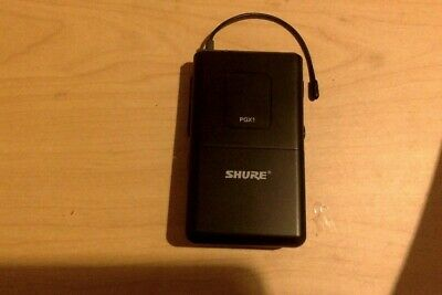Shure PGX1 Wireless Transmitter, 644-662MHz, brand new, BATTERIES INCLUDED