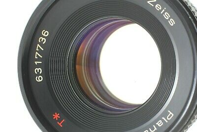 【Excellent】  Carl Zeiss Planar F1.7 50mm T AEJ Contax C/Y Mount From Japan #23