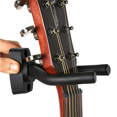 New Guitar Bass Holder Hook Stand Hanger Rack Wall Mount Display with Screws 1PC