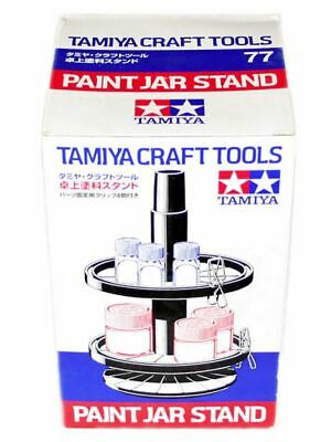 Tamiya Jar Paint Stand With Four Clips #74077