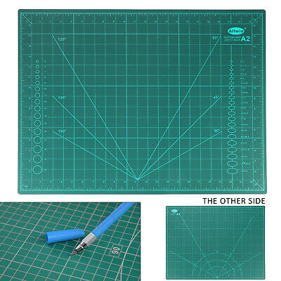 A2 Cutting Mat Self Healing Non Slip Craft Quilting Printed Grid Lines Board