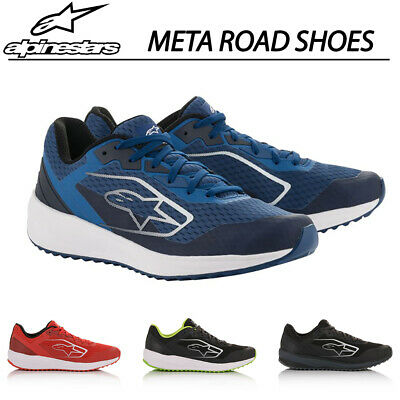 Alpinestars META ROAD Mens Shoes Motorsport Trainers Pitcrew Casual in 4 Colours