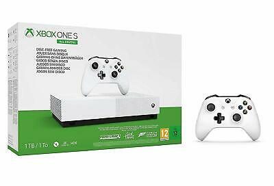 Xbox One S All Digital Edition 1TB Games Console in White | 12 Month Warranty UK