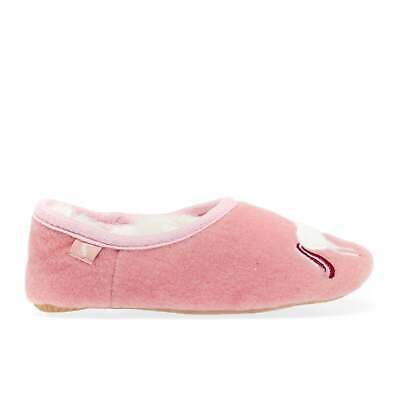 Joules Slipper And Soft Toy Girls Footwear Slippers - Cream Unicorn All Sizes