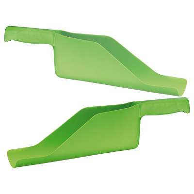 Kct Gutter Shovel Scoop Cleaning Removal Tool Roof Garden Guttering Pack Of 2