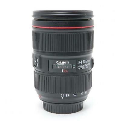 [Top Mint] Canon EF24-105mm F4L IS II USM Interchangeable Lens #0516 From Japan
