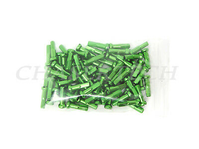 2.0mm 14g Alloy Bicycle spoke nipples 72 14G GREEN SOUR APPLE