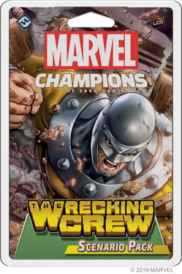 Marvel Champions LCG - Wrecking Crew scenario pack card game FFG New In Stock