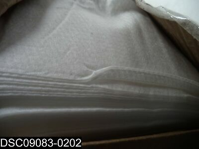 """QTY=1 Box of 250: NW-37-9-C Non Woven 9"""" x 36"""" White Disposable Dusters"""