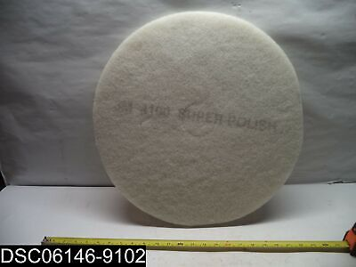 "QTY=5: 3M 4100 20"" Super Polishing Floor Pads"