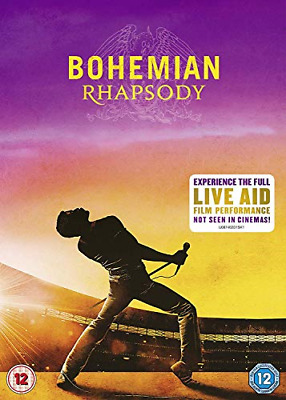 Bohemian Rhapsody [DVD] [2018], Very Good DVD, ,