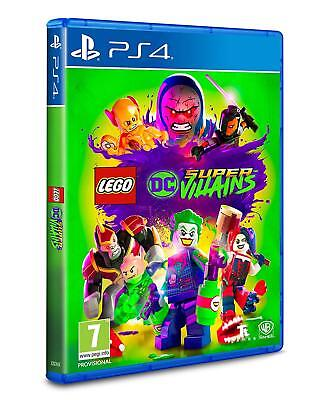 LEGO DC Super Villains PS4 Game BRAND NEW (No Shrinkwrap)