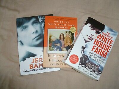 3x 2020 REPRINT BOOKS: WHITE HOUSE FARM MURDERS (ITV DRAMA) DIFFERING VIEWPOINTS