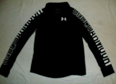 Girl's  Under Armour Black Shirt~Youth Size  Large