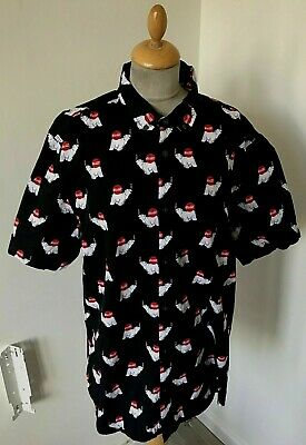 Coca Cola Polar Bear Shirt Size LARGE  Chest 40 .  SHORT SLEEVE