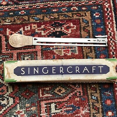 Vintage Singer Sewing Machine Co Singercraft Guide Tool 120987