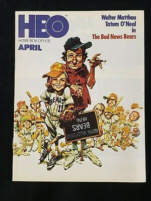 1978 Aug*The Bad News Bears/Matthau/O'neal*Hbo Home Box Office Movie Guide (As)D