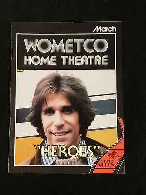 1979 March *Heroes/Winkler-Field* Wometco Home Theatre Guide (As)