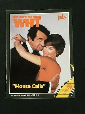 1979 July *House Calls-Matthau/Jackson* The Movie Network Wht Guide (As)