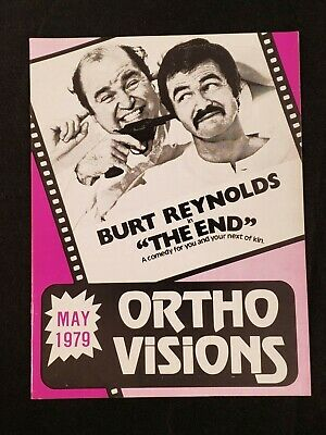 1979 MAY *THE END-REYNOLDS/DeLUISE* ORTHO VISIONS GUIDE BOOKLET (AS)