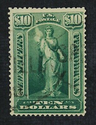 CKStamps: US Newspaper Stamps Collection Scott#PR122 $10 Used
