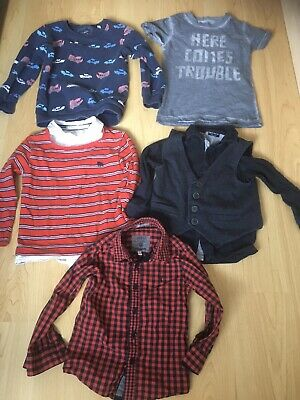 Boys Clothes Bundle. Shirt, Jumper, T-shirt. NEXT, JASPER CONRAN. Age 4 - 5 Year