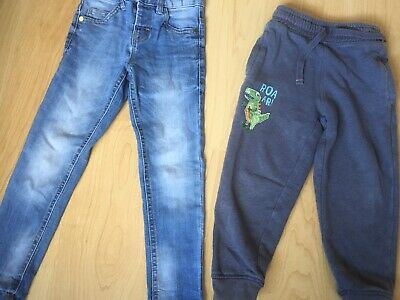 DEBENHAMS Bluezoo Boys Skinny Jeans & Jogging Bottoms. Age 4 - 5 Years