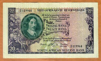 South Africa, 20 Rand, ND (1962), P-108A, XF > 60 years old