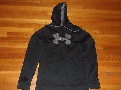 Under Armour Storm Black Hoodie Mens Medium Excellent Condition